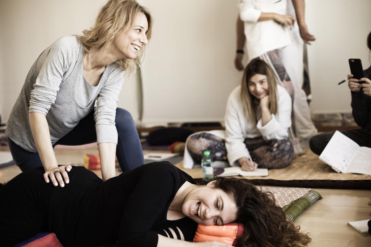 Thai healing massage